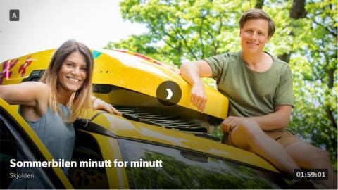 Sommerbilen - Tindevegen til Årdal